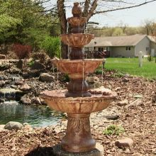 Bagley Four Tier Courtyard Landscape Fountain