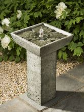 Andra Bird Bath Fountain