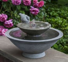 Wychwood Bird Bath Fountain