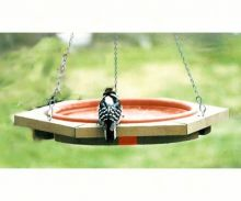 Mini Hanging Clay Tray Bird Bath