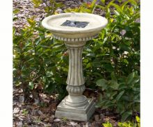 Ashbourne Solar Bird Bath