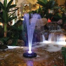 Floating Spray Fountain Pump w/ LED Lights