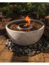 Fire Fountain Bowl (Sizes: Large)
